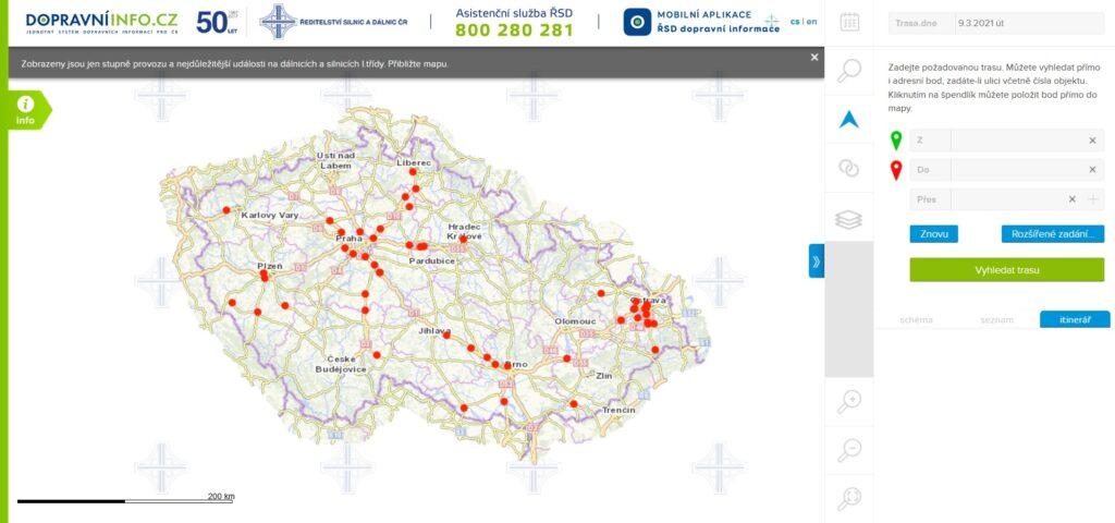 Jednotný systém dopravních informací pro ČR