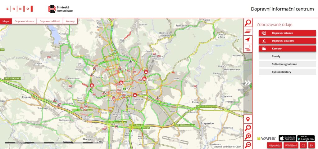 Dopravní informační centrum Brno